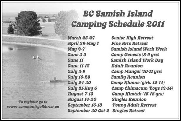 Samish Camping back