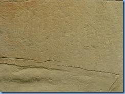 1910 Alberta - Writing-On-Stone Provincial Park - Battle Scene Trail -The Battle Scene petroglyphs