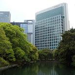 conrad hotel front view in Tokyo, Tokyo, Japan