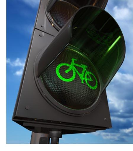 Semáforo bicicleta