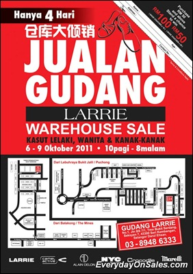 Larrie-Warehouse-Sales-2011-EverydayOnSales-Warehouse-Sale-Promotion-Deal-Discount