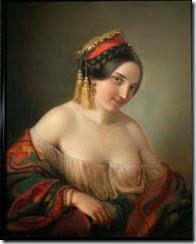 Friedrich-Von-Amerling-A-Gypsy-Girl
