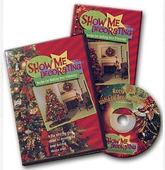 Show Me Decorating: Recipe for Holiday Tree Trimming DVD