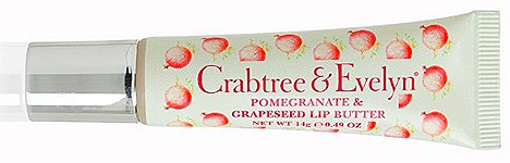 Crabtree & Evelyn Pomgranate, Argan & Grapeseed Body Care  Lip Butter (14g, $15)