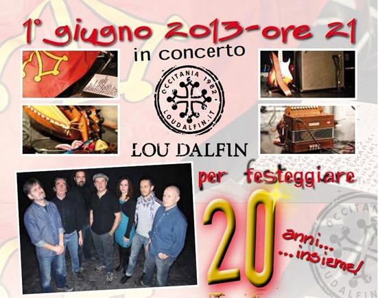 Aficha Lo Dalfin 1er de junh 2013