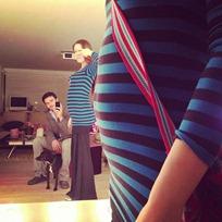 Juan Pablo Raba y Mónica Fonseca comparten foto de su embarazo