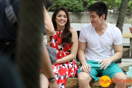 Jane and Jeron in Move On music video