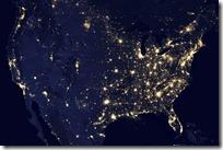 foto bumi malam hari dari nasa - amerika serikat