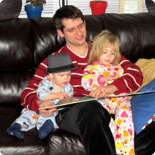 Storytime with Daddy