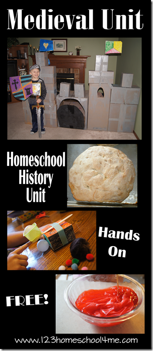 free hands on homeschool history medieval unit