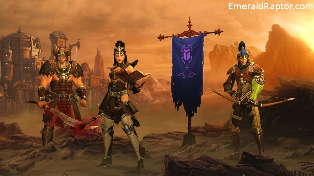 Diablo 3: Barbarian, Wizard & demon hunter