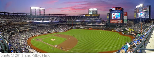 'Citi Field Twilight (pano from RF)' photo (c) 2011, Eric Kilby - license: https://creativecommons.org/licenses/by-sa/2.0/