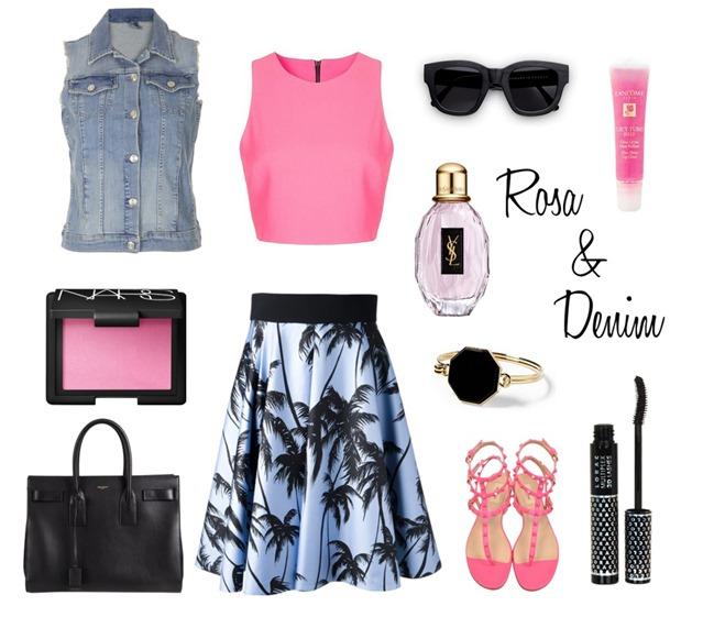 Rosa y denim