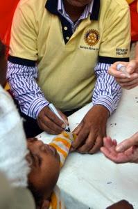 Delhi Camp Finger Marking