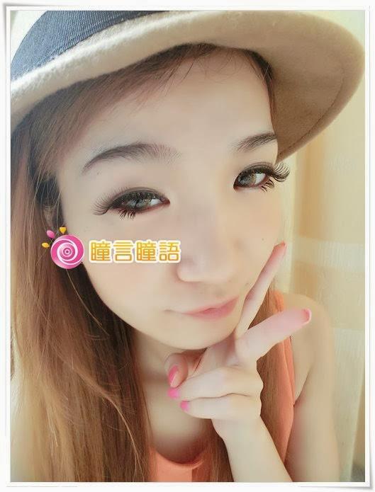 日本ROYAL VISION隱形眼鏡-蜜桃甜心金咖14