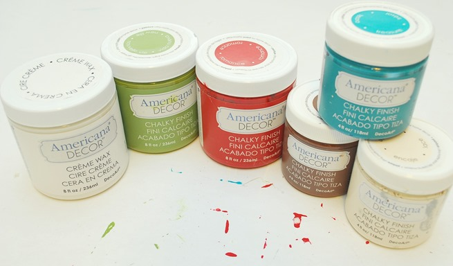 DecoArt Americana® Decor™ Chalky Finish paints