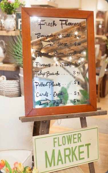 signage 13108pop up shop at pottery barn janie from brides cafe