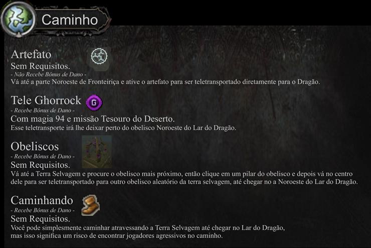 Mapa Dragão Negro Rei 3