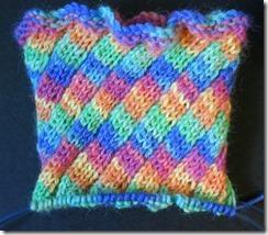 Socktoberfest Swirl Sock 1 Cuff