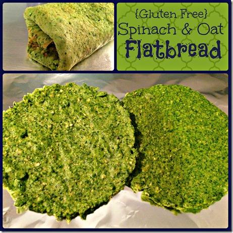 spinach flatbread