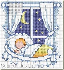 quadro-de-nascimento-bebe-dormindo-azul