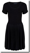 French Connection Jersey Pleated Dress