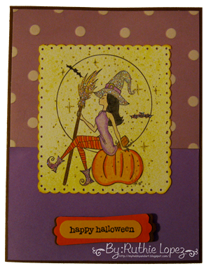 Happy Halloween - Cards Cupids - Stamping Boutique