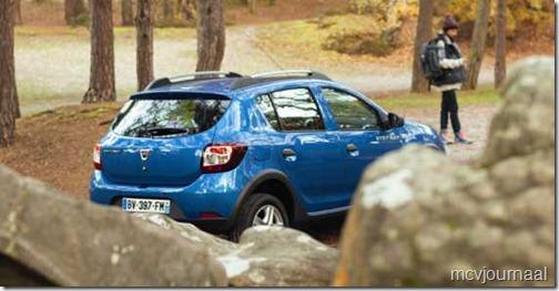 Dacia Sandero Stepway nieuw 01
