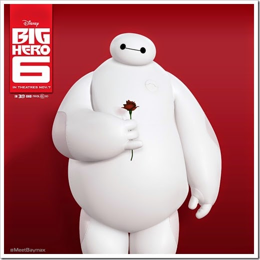 Baymax_with_a_Rose_in_his_hand
