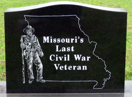 Last Civil War Veteran to Die in Missouri marker, Isabella Cemetery, Ozark County