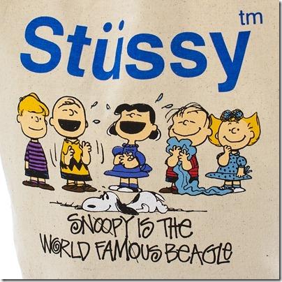 Stussy × Kids Peanuts # 1 Family Tote ¥ 2,940 02