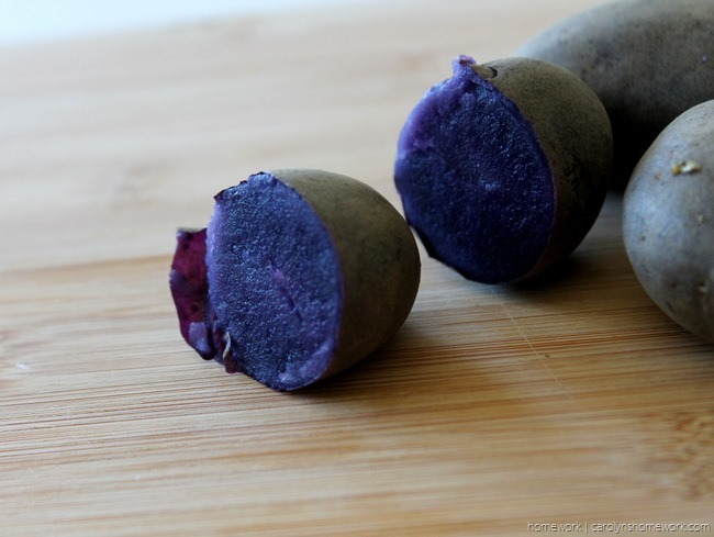 Purple Potato Vegetable Medley via homework - carolynshomework (1)