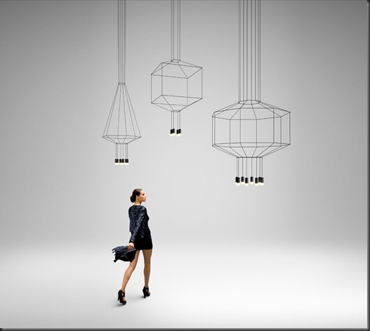 vibia wireflow contemporary new lighting interior design architecture