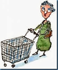 old woman shopping 2