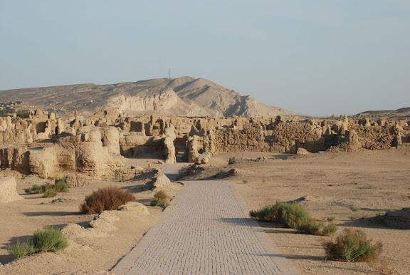 Turfan - Ruines de Jiaohe 16
