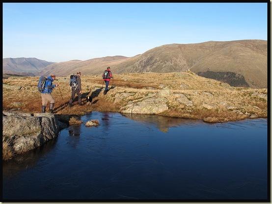 Approaching the summit of Wythburn Fell (508m)