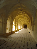 The Nuns\' Cloisters at Fontevraud Abbey