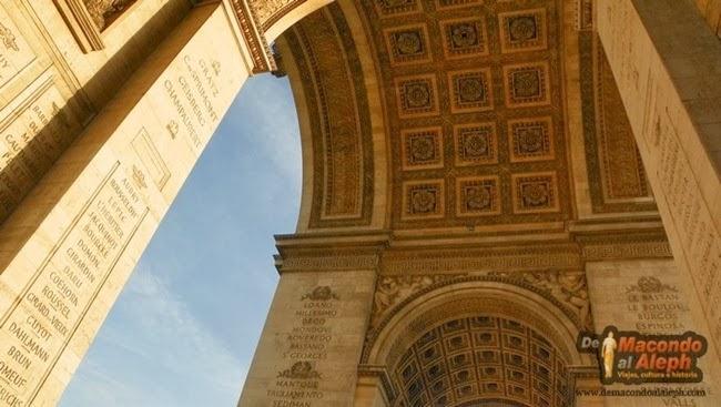 Visitar Arco del Triunfo Paris 2