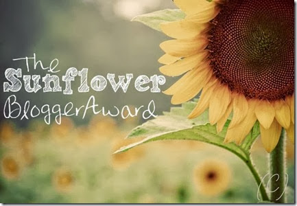 Sunflower Award Button