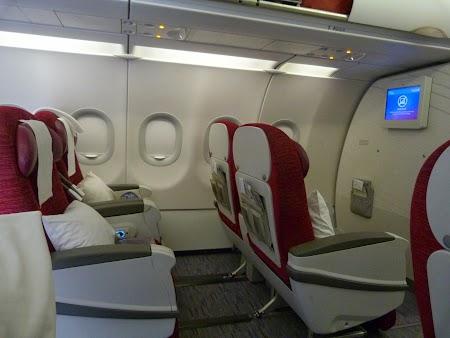 Clasa business Qatar Airways