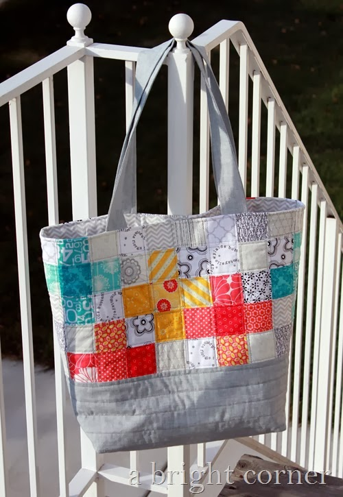 Scrappy tote bag from A Bright Corner