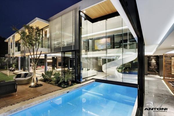 Diseño de piscina Saota Antoni Associates