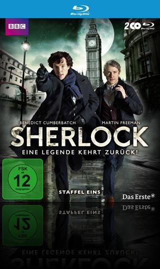 Sherlock staffel 1 poster blu-ray front cover