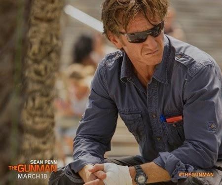 Sean Penn is a badass action hero in The Gunman