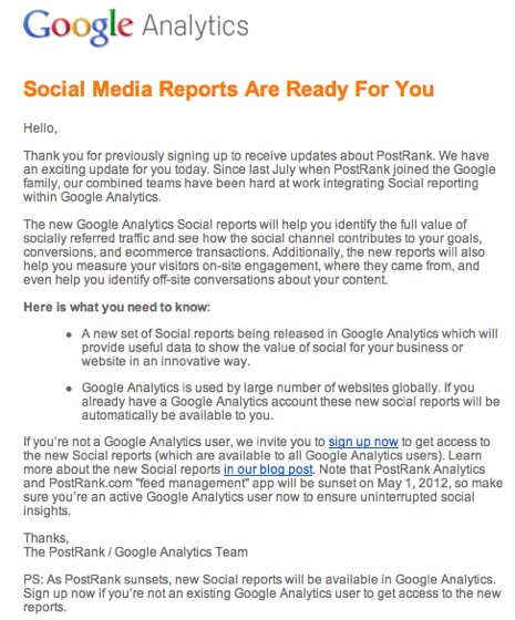 Gmail  Social Media Reports Are Ready For You