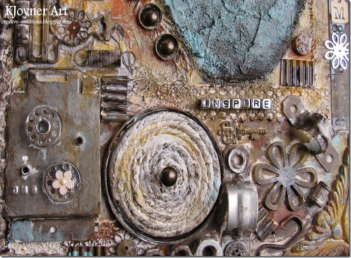 Inspire Mixed Media Art