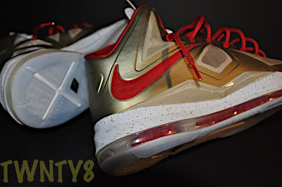 nike lebron 10 id production poor man championship gold 1 09 Poor Mans Championship Gold Nike LeBron X iD by TWNTY8