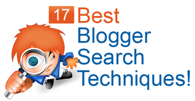 search techniques in blogger