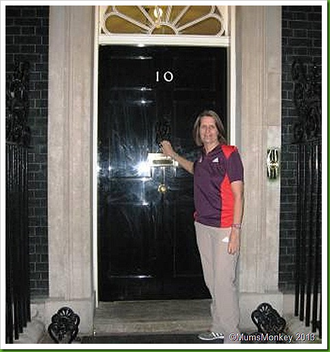 Door of No. 10