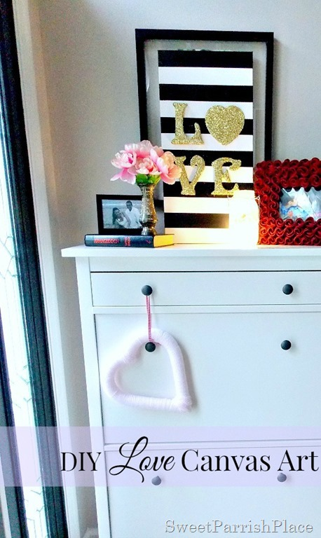 DIY Love Canvas Art11